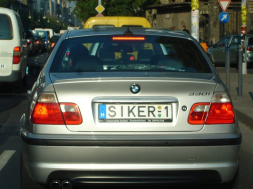 3 36 A 18 legegyedibb rendszám, amivel a magyar utakon találkozhatsz