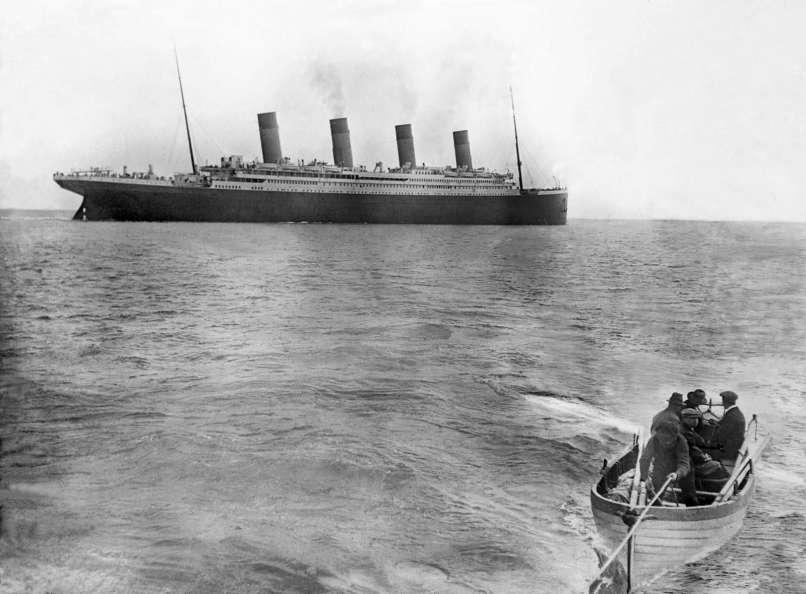 1912: Az utolsó fotó a Titanicról, mielőtt elsüllyedne